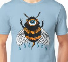 Cosmic Bee: the All-Seeing Pollinator Unisex T-Shirt