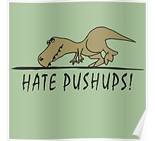 Hate Pushups! Poster