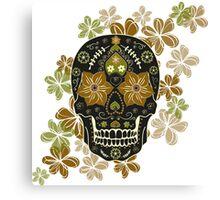 Mexican sugar skull,Day of dead Canvas Print