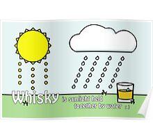 Whisky Sunlight Poster