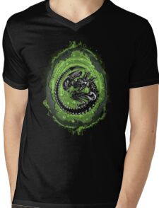 Alien Incubation Mens V-Neck T-Shirt