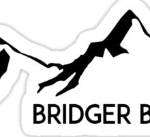 SKIING BRIDGER BOWL MONTANA SNOWBOARD SKI SNOWBOARDING HIKING CLIMBING Sticker