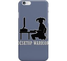 Desktop Warrior iPhone Case/Skin