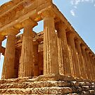 Greek Temple, Agrigento, Italy by Douglas E.  Welch