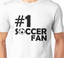 #1 Soccer Fan Unisex T-Shirt