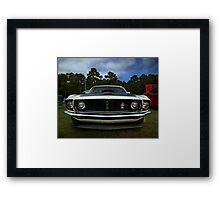 1969 Ford Mustang Framed Print