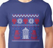 Doctor who Christmas TARDIS design  Unisex T-Shirt
