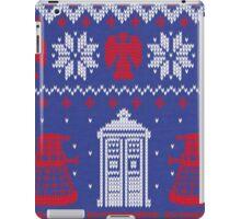 Doctor who Christmas TARDIS design  iPad Case/Skin