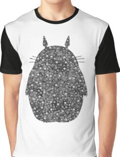 My Neighbour - Black and White Dots Graphic T-Shirt