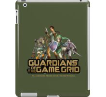 Guardians of the Game Grid. iPad Case/Skin
