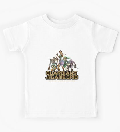 Guardians of the Game Grid. Kids Tee