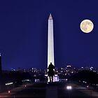 The Ulysses S. Grant Memorial - Washington D.C.  by Matsumoto