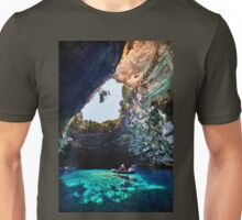 Boat ride in Melissani cave-lake Unisex T-Shirt