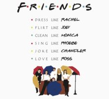 Be like Friends • TV show One Piece - Short Sleeve