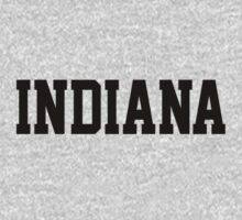 Indiana Jersey Black by USAswagg