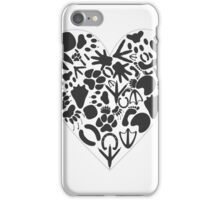 Heart of an animal iPhone Case/Skin