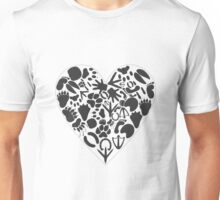 Heart of an animal Unisex T-Shirt