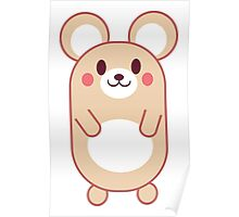 Baby Anime Mouse Poster