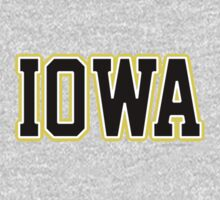 Iowa Jersey Black by USAswagg
