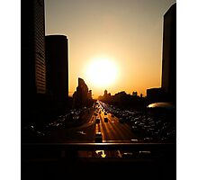 Rush Hour  - Beijing, China Photographic Print
