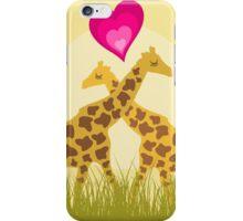 Love a giraffe iPhone Case/Skin