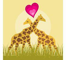 Love a giraffe Photographic Print
