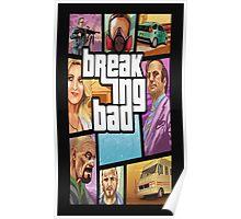 Breaking Bad-Gta Poster