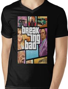 Breaking Bad-Gta Mens V-Neck T-Shirt
