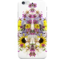 Flower Reflection (vertical)  iPhone Case/Skin