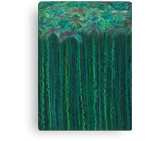 Tufts on Stems in Water Canvas Print