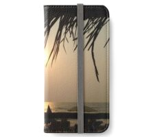 Worldly Sunset upon the people By Emily Stanley iPhone Wallet/Case/Skin