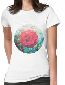 RED ROSE VINTAGE INDIA Womens Fitted T-Shirt