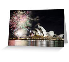 Sydney Opera House, NSW Australia Greeting Card