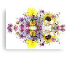 Flower Reflection (horizontal) Metal Print