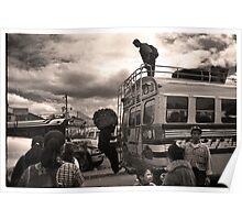 Loading Up - Quetzaltenango (Xela) Poster