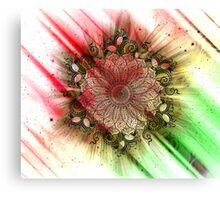 Mandala - Inverse Universe III Canvas Print