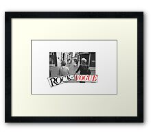 ROCK n' VOGUE Framed Print