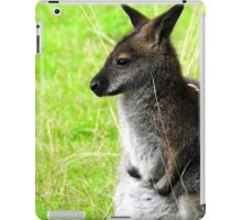 Apprehensive Wallaby iPad Case/Skin
