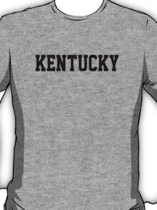 Kentucky Jersey Black T-Shirt