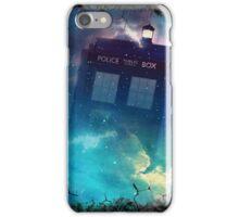 Tardis Burst iPhone Case/Skin