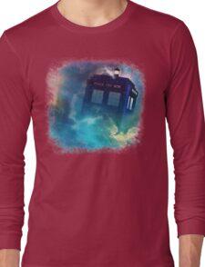 Tardis Burst Long Sleeve T-Shirt