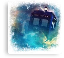 Tardis Burst Canvas Print