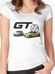 GT86 JDM spirit Women's Fitted Scoop T-Shirt