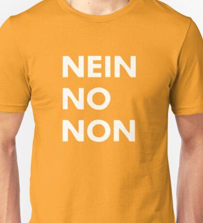Thom Yorke - Nein No Non Unisex T-Shirt