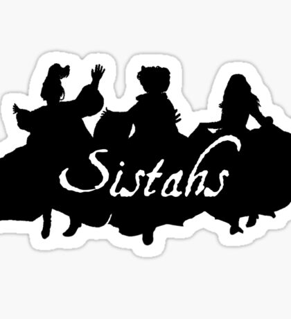 Sistahs! Sticker