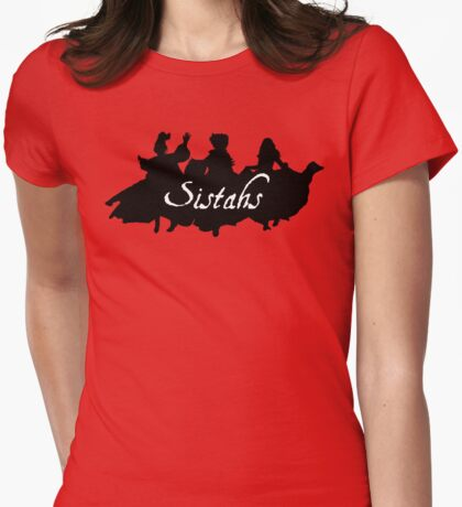 Sistahs! Womens Fitted T-Shirt