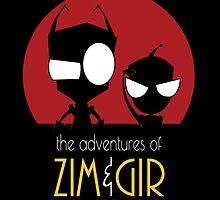 Adventures of Zim & Gir by OtakuTeez