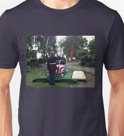Honoring A Faithful Soldier Unisex T-Shirt