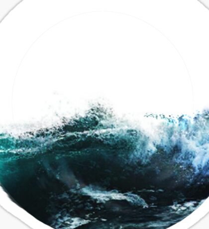 Ocean Waves Sticker