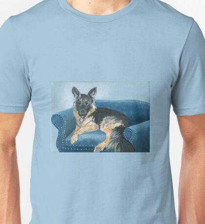 Angus the German Shepherd Unisex T-Shirt